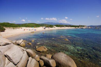 Strand vakantie Corsica